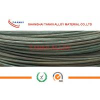 China 6-8mm Oxidized Fecral Resistance Heating Wire Cold Rolled High Resistivity wholesale