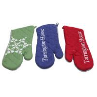 China Custom Colors Pot Holder Gloves , Heat Proof Oven Gloves Flexible Operation  wholesale