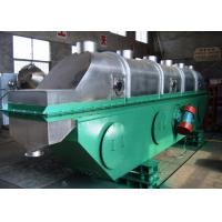 China Granules Vibrating Continuous Fluid Bed Dryer Machine on sale
