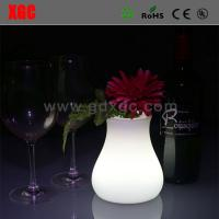 China Outdoor Garden Decrative llluminated flower pots wholesale
