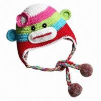 China Animal Knitted Hat for Children, OEM Orders are Welcome wholesale