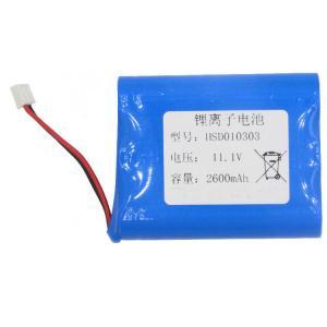 China Samsung 18650 UN38.3 12V 2600mAh Lithium Ion Battery Pack wholesale