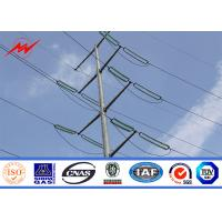 China 12m 1000Dan 1250Dan Steel Utility Pole For Asian Electrical Projects wholesale