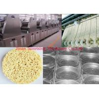 China Instant Noodle Making Machine , Food Grade Stainless Steel Noodle Dryer Machine wholesale