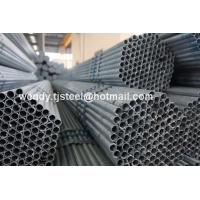 China hollow steel pipe fitting / hot dipped galvanized steel pipe / steel pipe welded wholesale