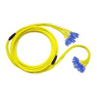 Buy cheap Pre terminated 32 fiber break out SC to SC Fanout patch cable from wholesalers