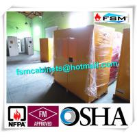 China Flammable Liquid Storage Containers 45 GAL For Combustible / Hazardous Material wholesale