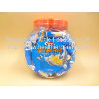 China Low Calorie Energy Roll Milk Candy Sugar Tablet Compressed Jar Packed wholesale