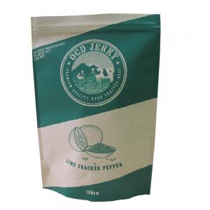 China Custom Printed Almon Kraft Paper Packaging Bag Dry Food Packaging wholesale