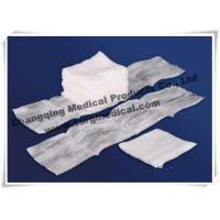 China 100% Cotton Filled Exodontia Woven Gauze Sponges For Surgery / Tooth Extraction wholesale