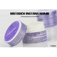 China Permanent Tattoo Anesthetic Cream , Painless Biotouch Instant Numb Cream wholesale