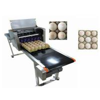 China Smart Egg Industrial Inkjet Printing MachinesCan Print 120000 Eggs With Six Ink wholesale