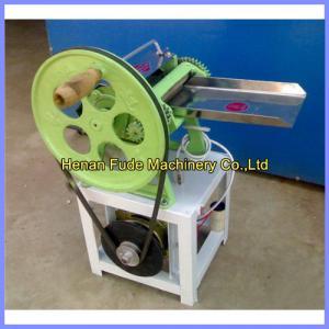 China Round flat cake cutting machine, round flat cake shredder, pencake slicer wholesale