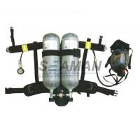 China Marine EC / MED Ship's Wheel Mark Air Breathing Apparatus With Two Cylinder / SCBA Set wholesale