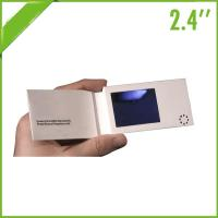 China Electronic LCD Video Mailer 4.3 Inch CMYK Printed For Promotional Activities wholesale