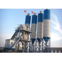 China 60m3 Small Ready Mix Concrete Plant With Stationary Automated Belt Conveyor wholesale