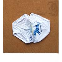 China White 100% Polyester Plus Size Lovely Organic Kids Underwear With Goods Delivery Service wholesale