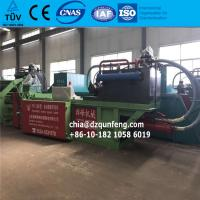 China Fully automatic Waste cardboard baler recycling machine with TUV Waste Recycling baling press wholesale