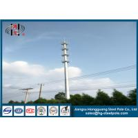 China Steel Monopole Broadcasting Telecommunication Towers For China Tower Industry wholesale