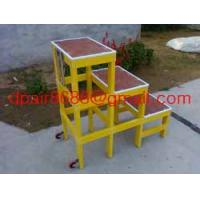 China FRP Square Tube A-Shape insulated ladders wholesale