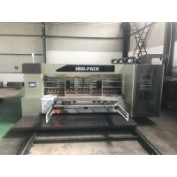 China All Computer 4 Color Flexo Printing Machine With Slotter And Die Cutting wholesale