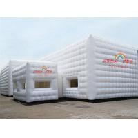 China White 9x6m Party Inflatable Cube Tent for outdoor event wholesale