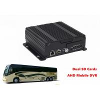 China Live View Video Dual SD Card Mobile DVR 4G GPS WIFI 4CH AHD 720P Recording wholesale