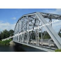 Buy cheap Multi-span Single Lane Steel Box Girder Bailey Bridges Structural Formwork Truss from wholesalers