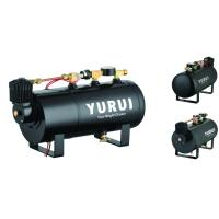China Various Functions 2 In 1 Portable Compressed Air Tank For Inflation And Car Horns wholesale