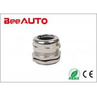 China M/NPT/G PG Cable Gland , Brass Cable Glands Extremely Easy Installation wholesale