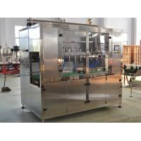 China Linear Oil Filling Machines , Pesticides Filling Machine Price wholesale
