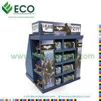 China Four Sided Playing Card Display Case with Corrugated Material, Plastic Toy Display Shelf on sale