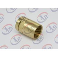 Quality Brass Female Union Nipple High Precision Machining Parts With Pickling Surface for sale