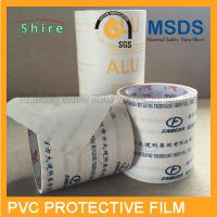 China Durable Kitchen Cabinet Protection Film , 80MIC Mikly White PVC Stretch Film wholesale