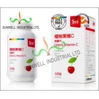 China Fruit Vitamin Bottle Medicine Packaging Box CMYK Color Printing Cardboard wholesale