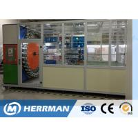 China High Speed Wire Braiding Machine , Automatic Cable Braiding Machine Horizontal wholesale