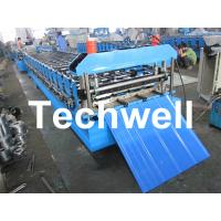 China 13 - 20 Forming Station Roof Wall Roll Forming Machine for Metal Roofing Sheet TW-RWM wholesale