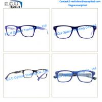 Acetate glasses eyewear fashionable full rim metal optical ...