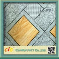 China Printed Decorative PVC Basketball Flooring / PVC Floor Covering For Wedding or Party wholesale
