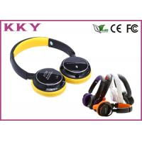 China Lively Tone 108dB On Ear Wireless Headphones Headband Built In Microphone wholesale