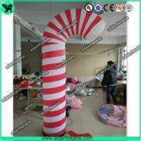 China 3m Christmas Decoration Inflatable Candy Pillar,Event Inflatable Candy wholesale