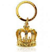 China The British Gold Crown Souvenir Keychian wholesale