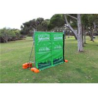 China 29dB Tarpaulin Acoustic Portable Fencing Panels Sound Wall Barrier Waterproof wholesale