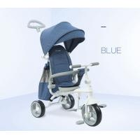 China EVA Foam Tire Toddler Push Tricycle , Multi Color Tricycle Bike For Toddler wholesale