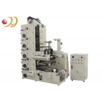 China Multi - Color Flexo Graphic Printing  Machine For Auto Infrared Drying wholesale