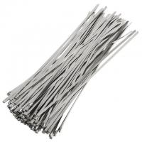 China ball-lock type self locking stainless steel cable ties wholesale