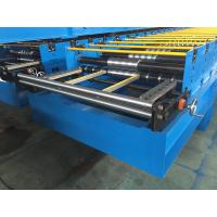 China GI / PPGI Roof Panel Roll Forming Machine Wall Board Structure For Roofing Sheet wholesale