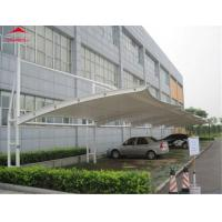China Fire Safety Iron Tensile Membrane Structures Architecture Self - Cleaning Ability on sale