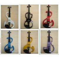 China White / Black Electric Violins wholesale