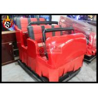China 6 Together Chair for Mobile 5D Movie Theater Equipment with Hydraulic Platform wholesale